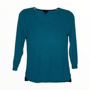 The Limited Sweater Blue Gray Accent